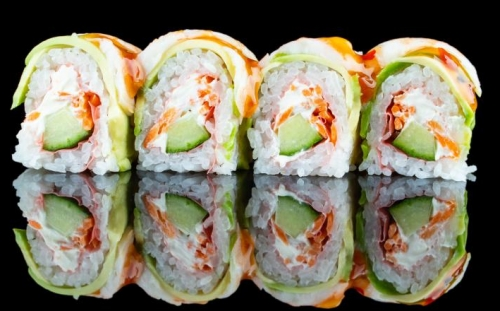 Sushi Fitness roll Dragon