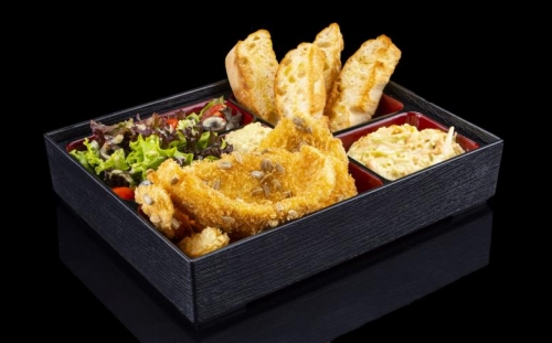 DISHES Fish dishes Bento crispy Sole fish