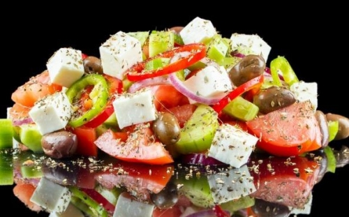 SALADS Salads Greek salad