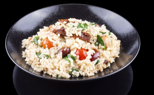 NON MEAT MEALS Non meat meals Risotto with spinach