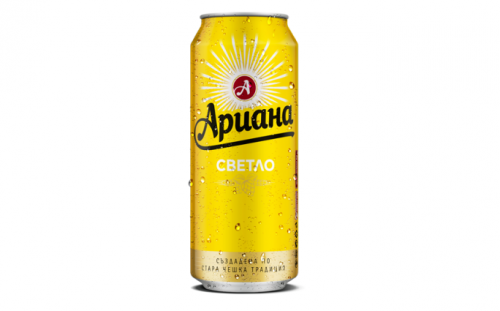 DRINKS Promo Beer Ariana 0.5l