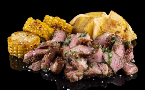 DISHES Veаl dishes Black Angus with roasted corn