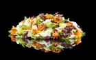Roasted pumpkin with goat cheese