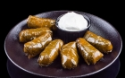 NON MEAT MEALS Non meat meals Stuffed lean vine leaves with rice, served with yoghurt