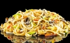 DISHES Asian Vegetable noodles