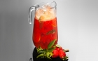 STRAWBERRIE MENU Strawberrie menu Strawberry lemonade with mint 1l