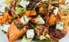 salad Roasted vegetables with Feta cheese